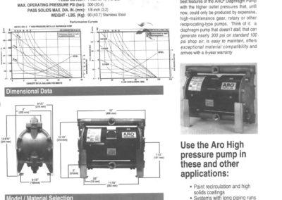 600 Aro Pumps