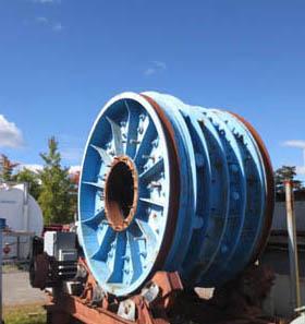 6x2 SAG Mill